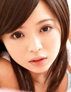 Runa Hamakawa has big eyes and hard to resist ass cheeks