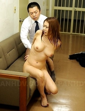 Brunette slut gets fucked so hard