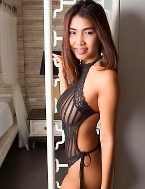 Sexy Thai girl with big boobs