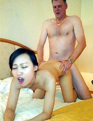 Horny Thai slut banged rough doggystyle