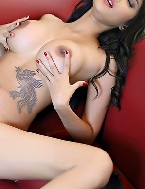 These two asian girls Mayrita and Ramita appease each other with a tongue and sex toys