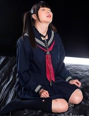 Slutty schoolgirl Miku Himeno has unique after school hobbies.