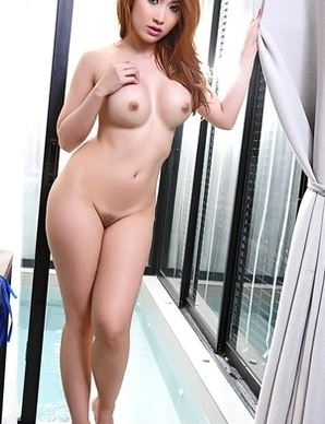Cute  Asian Myra in bath