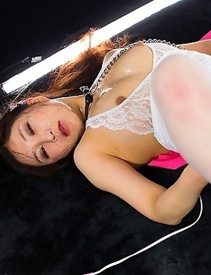 Slutty Yuu Kazuki gets her sexy face slammed with cock while wearing her favorite lingerie.