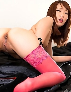 Ai Mizushima has grown up to become quite a facefuck slut since last time we stuffed her face with cock.