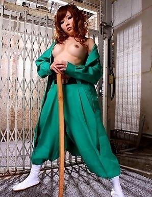 Nasty Asian gal Tsubasa Miyashita
