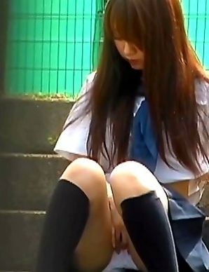 Japanese Piss Fetish Videos - Asian Girls Pissing - Hard Nipples and Wet Panties