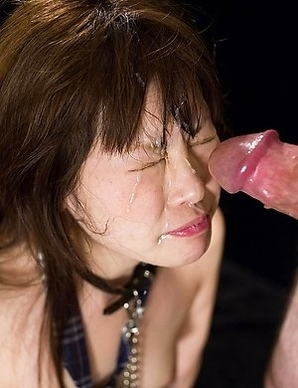 Cute schoolgirl Aina Shirohane has never been throat fucked before, so we scheduled a private lesson with a thick cock for her.