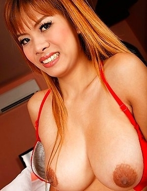 Thai babe with great big tits