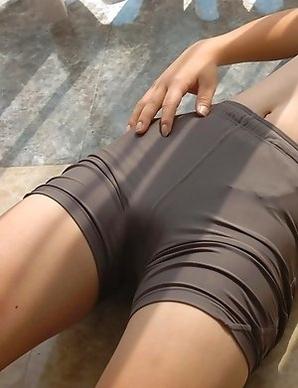 Noriko Kijima with huge knockers loves sun on her skin