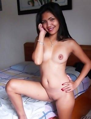 Dark-skinned beauty Rosalie