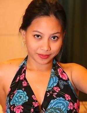Busty Filipina girl Mhine