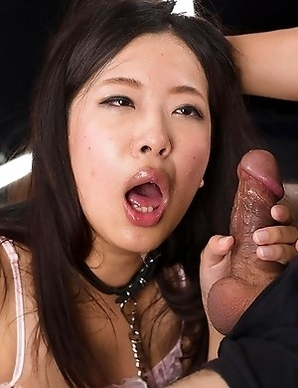 Miyuki Fukatsu couldnt get enough dick last time so she desperately begs her boyfriend to fuck her face.