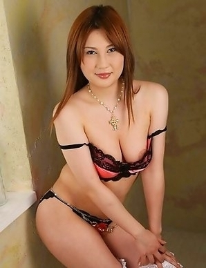 Topless Asian is a sexy tasty treat