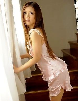 Uta Kohaku spreads her slim legs