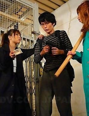 Tsubasa Miyashita gets a mouthful